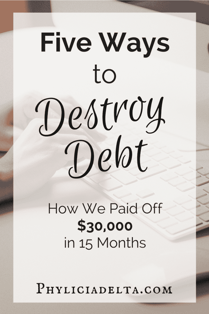 Five Ways to Destroy Debt