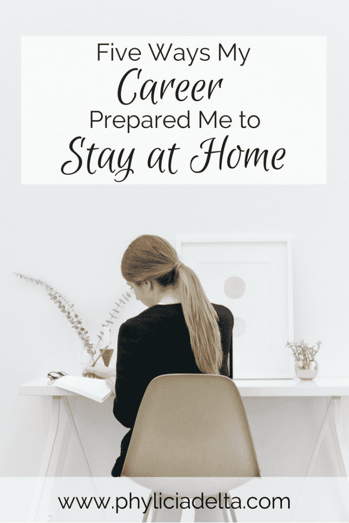 """For womenin the throes of deciding """"stay home or not to stay home?"""", I want to offer this balanced perspective for consideration. Your career won't be wasted if you eventually stay home.In fact, the following five workplace buzzwords are equally applicable in the kitchen and nursery."""